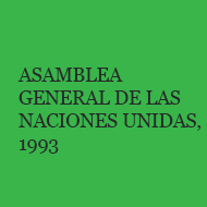 Asamblea General de las Naciones Unidas 1993