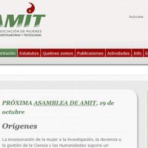 AMIT Asociación de mujeres investigadoras y tecnólogas