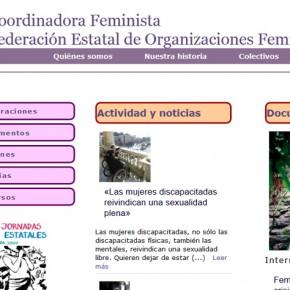 Coordinadora Feminista. Federación Estatal de Organizaciones Feministas