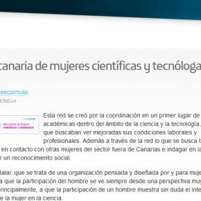 Red Canaria de Mujeres Científicas y Tecnólogas