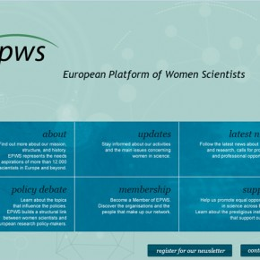 EPWS European Platform of Women Scientists