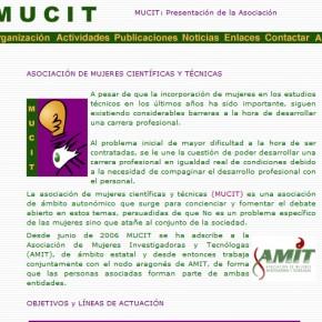 MUCIT - Asociación de Mujeres Científicas y Técnicas