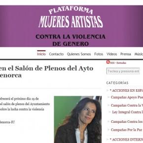 Plataforma Mujeres Artistas Contra la Violencia de Género