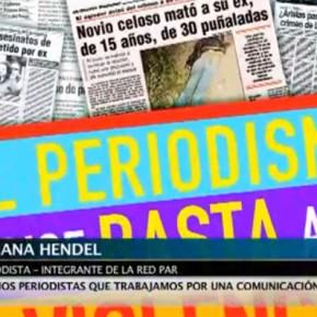 Periodismo Integrante de la Red Par, periodista por una comunicación sin sexismo, TELAM, Argentina