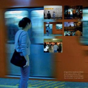 El lugar de las mujeres en el Metro de la Ciudad de México. Una pieza de Cindy Gabriela Flores