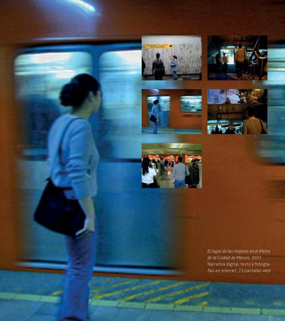 El lugar de las mujeres en el Metro de la Ciudad de México