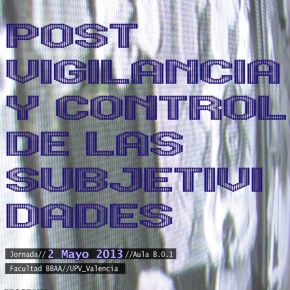 Jornadas Post-vigilancia y control de las subjetividades