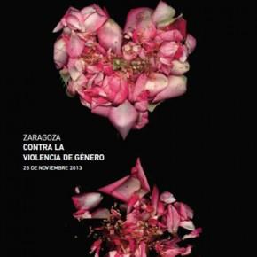Zaragoza contra la violencia de género 2013