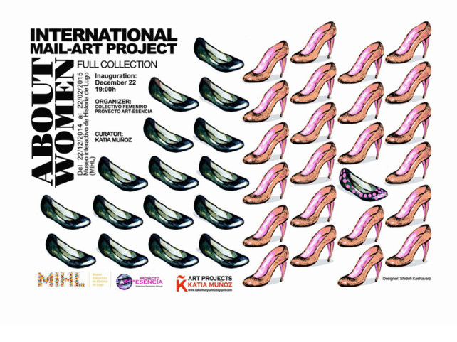 http://www.generandoarte.com/about-women-internacional-mail-art-project-en-el-museo-interactivo-de-historia-de-lugo-mhl/