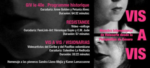 VIS A VIS. Muestra internacional de Videoarte desde la Perspectiva de Género