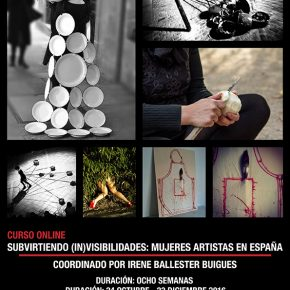 Curso online: Subvirtiendo (in)visibilidades: mujeres artistas en España