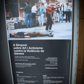 Imágenes del II Simposio sobre Arte y Activismo contra la Violencia de Género. Iniciativas sociales, nuevas masculinidades y luchas frente al victimismo comunicacional