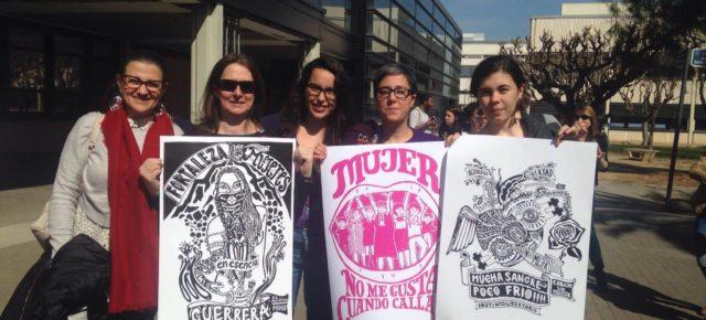 Women in Work en el Día Internacional de la Mujer, 8 de marzo, Universitat Politècnica de València.