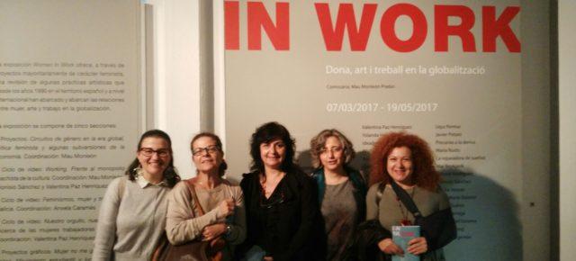 Fotografías de la inauguración Women in Work en la Universitat Politècnica de València