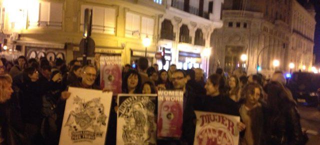 Women in Work sale a la calle con las Brigadas Feministas chilenas el 8 de marzo!